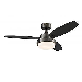 "Westinghouse Ceiling Fan Alloy 105 cm / 42"" with lighting"