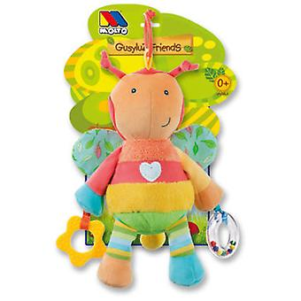 Molto Teddy Little Bee Gusyluz Friends 0+ (Bebes , Jouets , Peluches)