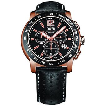 Cover mens watch chronograph Co126. RPL1LBK