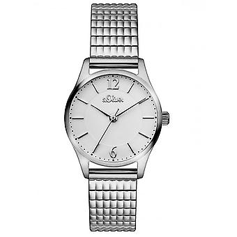 s.Oliver ladies watch train watch wristwatch stainless steel SO-3191-MQ