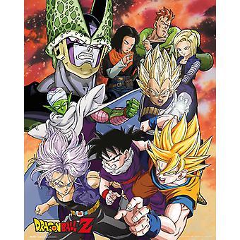Dragon Ball Z Cell Saga Mini-Poster