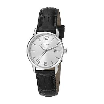 Pierre Cardin ladies watch wristwatch JUSSIEU leather PC106732F05