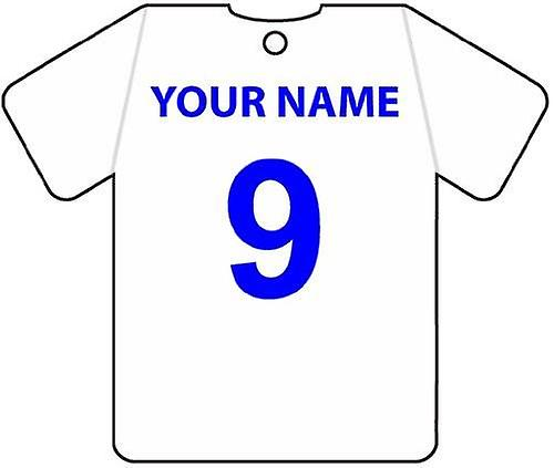 Personalised Bury Football Shirt Car Air Freshener