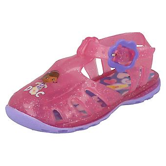 Girls Disney Doc McStuffins Jelly Sandal Woodcroft