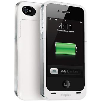 Mophie Juice Pak Air Battery Case for Apple iPhone 4/4S - White