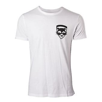 Hüter des Galaxy Vol 2 Rakete Extra T-Shirt S - weiß (TS571020GOG-S)