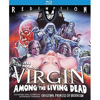 Virgin blandt the Living Dead [BLU-RAY] USA importerer