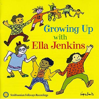 Ella Jenkins - Growing Up met Ella Jenkins [CD] USA import