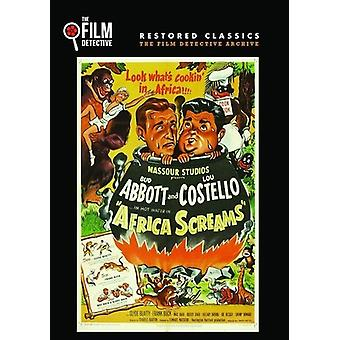 Africa Screams [DVD] USA import