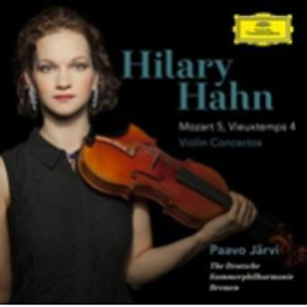 Hilary Hahn - Violin Concertos: Mozart No 5 & Vieuxtemps No 4 [CD] USA import