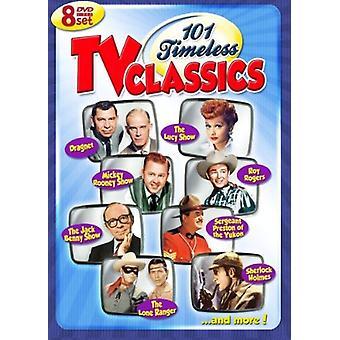 101 tidløse TV [DVD] USA import