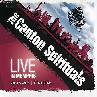 Canton Spirituals - Live i Memphis [CD] USA import