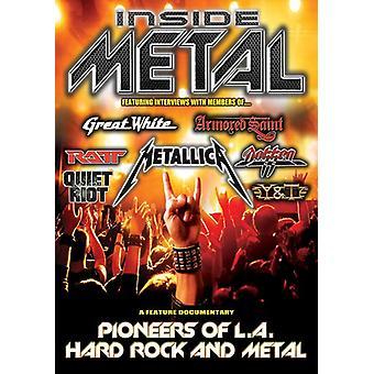 À l'intérieur du métal: Importer des pionniers du Hard Rock de Los Angeles Metal & [DVD]-Etats Unis