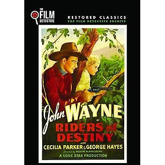 Riders of Destiny [DVD] USA import