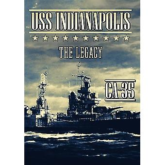 USS Indianapolis: The Legacy [DVD] USA importerer
