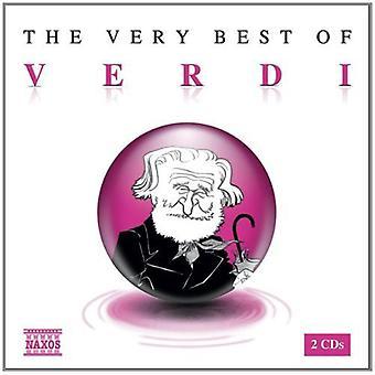 G. Verdi - The Very Best of Verdi [CD] USA import