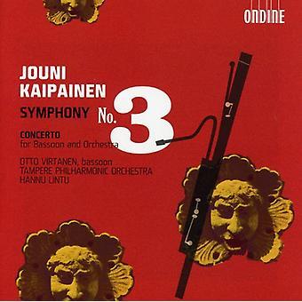 J. Kaipainen - Jouni Kaipainen: Symfoni No. 3 [CD] USA import