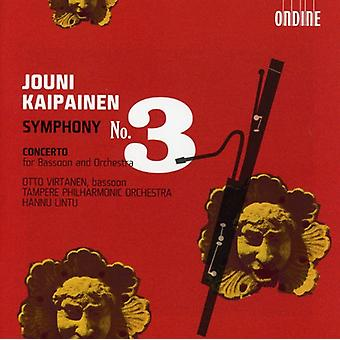 J. Kaipainen - Jouni Kaipainen: Symphony No. 3 [CD] USA import