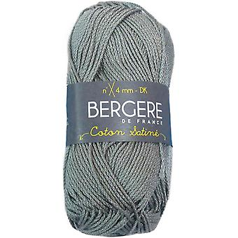 Berger De France Coton Satine Yarn-Gris COTONSAT-35227