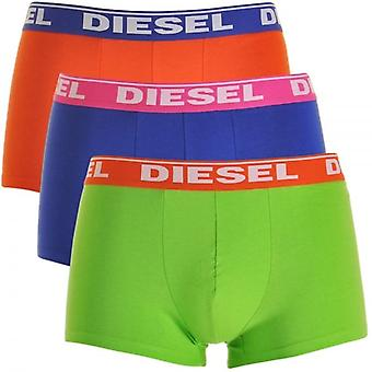 DIESEL Fresh And Bright UMBX-Shawn 3-Pack Boxer Orange / Blue / Green, Large