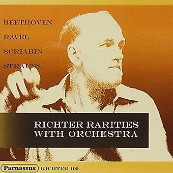 Sviatoslav Richter, forskellige orkestre en - Beethoven: Ravel: Skrjabin: R. Strauss: [CD] USA import