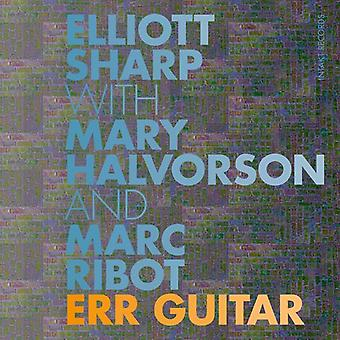 Halvorson * Mary / Ribot * Marc / skarpe * Elliott - Err Guitar [CD] USA import