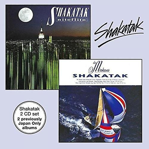 Shakatak - Shakatak-Da Makani & Niteflite [CD] USA import
