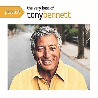 Tony Bennett - spellista: The mycket bästa av Tony Bennett [CD] USA import
