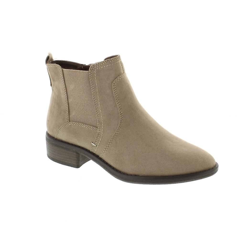 Soft Line 25366 - 341 Taupe (Beige) Womens Boots