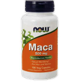 Now Foods Maca 500 Mg 100 Capsules (Vitamins & supplements , Special supplements)