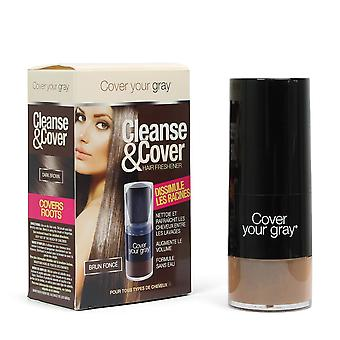 Cover Your Gray Cleanse & Cover Hair Freshener Dark Brown 12g