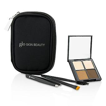 Glo Skin Beauty Brow Collection - # Brown - -