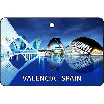 Valencia - Spain Car Air Freshener