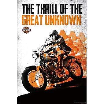 Harley Davidson - Great Poster Poster Print