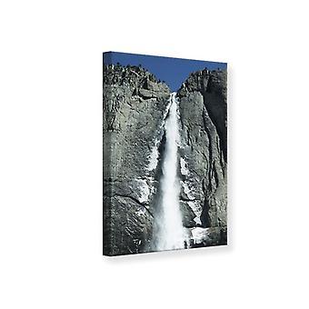 Canvas Print Waterfall Yosemite