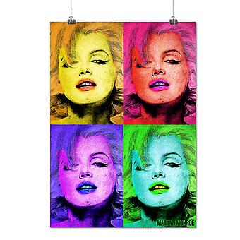 Matte or Glossy Poster with Marilyn Monroe | Wellcoda | *q1475