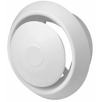 Ceiling Air Diffuser Extraction Ventilation Exhaust Cap Circle Vent 100-150mm