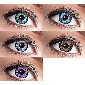 Big eye natural contact lens 15 mm