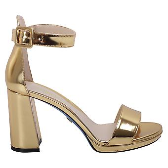Loriblu ladies 7EBT706862 gold leather sandals