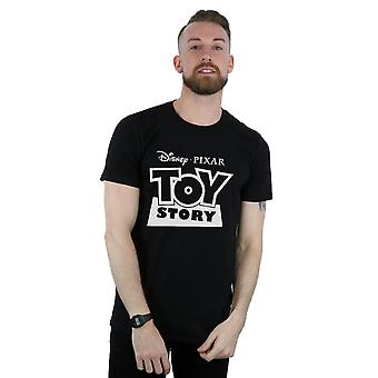 Disney Men's Toy Story Logo Outline T-Shirt