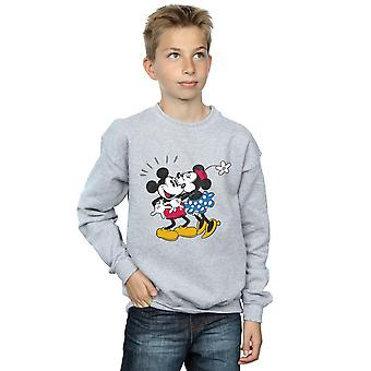 Disney jungen Micky Maus Mickey und Minnie küssen Sweatshirt