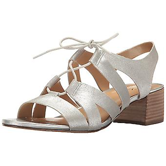 Naturalizer Womens Felicity Leather Open Toe Casual Slingback Sandals