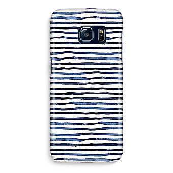 Samsung S6 Edge Full ut fallet - förvånande linjer