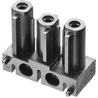 Mains connector AC Series (mains connectors) AC Socket, straight
