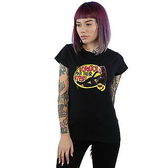 DC Comics Women's Batman TV Series Catwoman Scratch T-Shirt