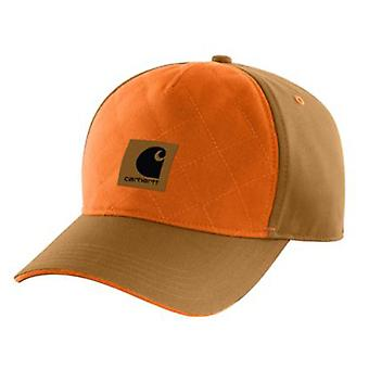 Carhartt Upland Quilted Cap - Brown Mens baseball Cap 102294 printed adjustable