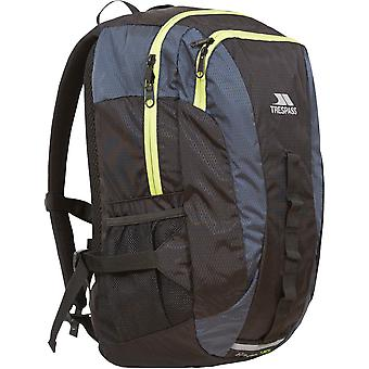 Trespass Mens & Womens/Ladies Race 20 Litre Reflective Padded Rucksack