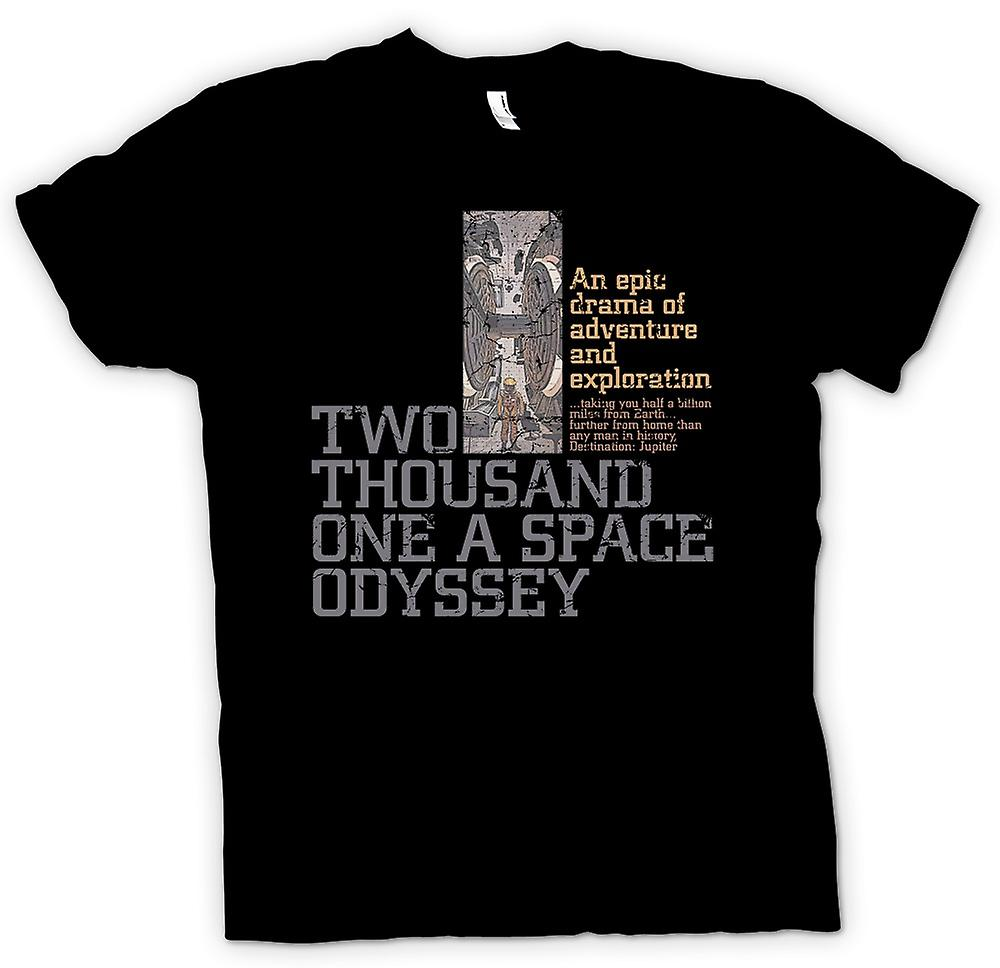 Womens T-shirt - 2001 A Space Odyssey - Kubrick