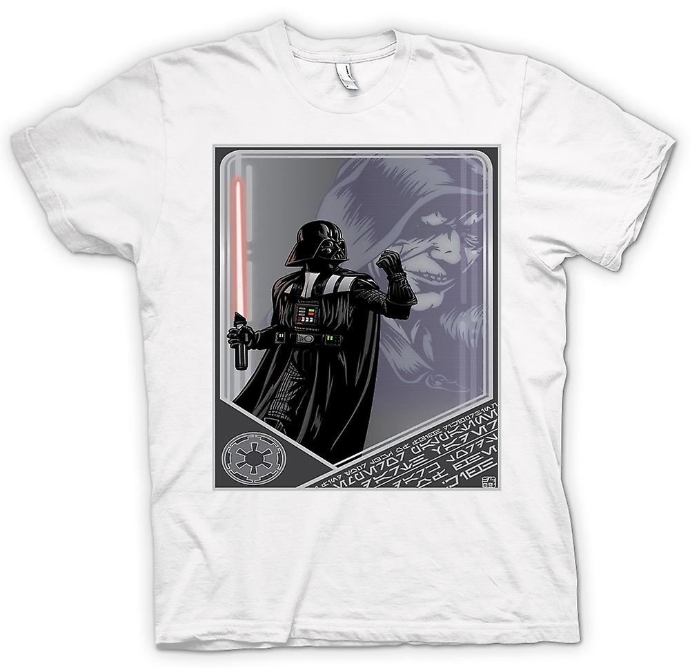 Mens T-shirt - Darth Vader & Palpatine - Japanese