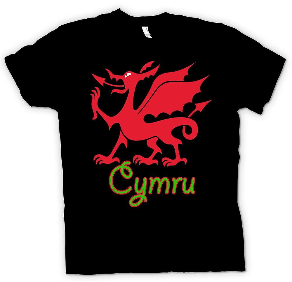 Kids T-shirt - Welsh Dragon - Cymru